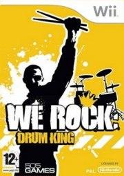 Carátula de We Rock: Drum King - Wii