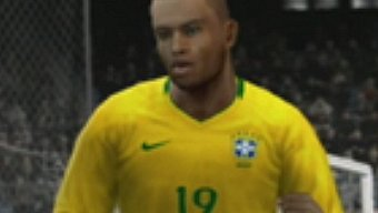 Video PES 2010, Gameplay: España vs Brasil