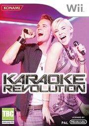 Carátula de Karaoke Revolution - Wii