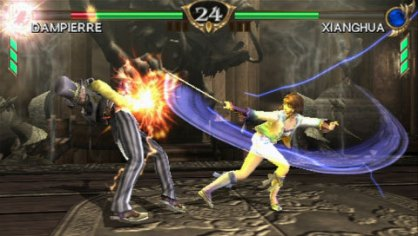 Soul Calibur Broken Destiny PSP