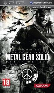 Carátula de Metal Gear Solid: Peace Walker - PSP