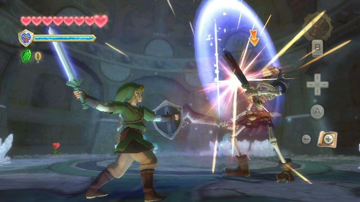 The Legend Of Zelda Skyward Sword No Tendra Version Especifica Para