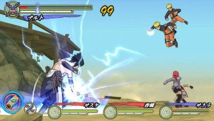Naruto Ultimate Ninja Heroes 3: Primer Contacto