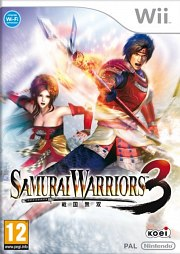 Carátula de Samurai Warriors 3 - Wii