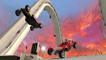 Video TrackMania, Gameplay: Duelo a pantalla partida
