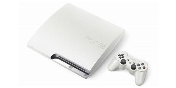 PlayStation 3 Slim en color blanco, nuevo modelo disponible en Japón