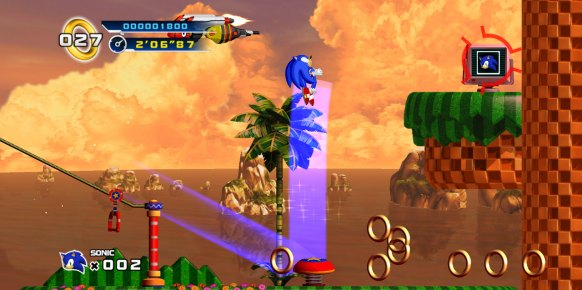 Sonic 4 Episode 1: Primer contacto