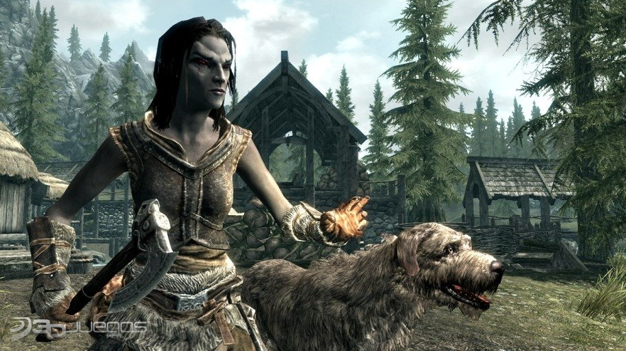 The Elder Scrolls V Skyrim - Impresiones GamesCom