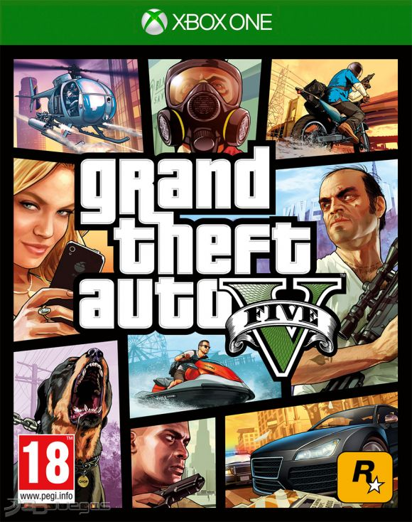 Grand Theft Auto V Para Xbox One 3djuegos
