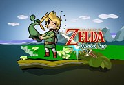 Carátula de The Legend of Zelda: The Minish Cap - Wii U