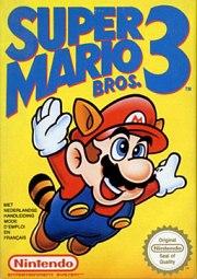 Carátula de Super Mario Bros 3 - Wii