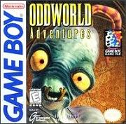 Carátula de Oddworld Adventures - GB