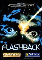 Carátula de Flashback - Megadrive