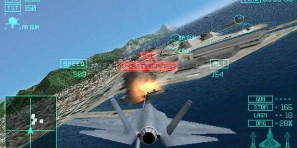 Ace Combat Joint Assault an�lisis