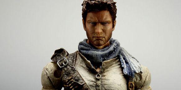 Imagen de la figura de Nathan Drake, protagonista de Uncharted.