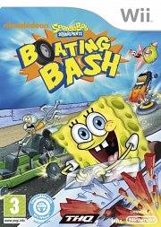 Carátula de Bob Esponja: Botes de Choque - Wii