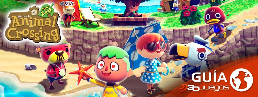 Gu�a Animal Crossing New Leaf
