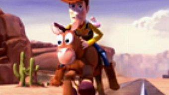 Toy Story 3 El Videojuego: Gameplay: ¡Arre, arre... perdigón!