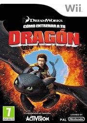 Carátula de Cómo Entrenar a tu Dragón - Wii