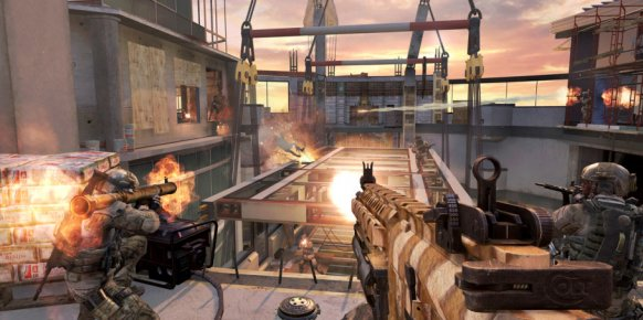Call of Duty: Modern Warfare 3 - Mapa Overwatch