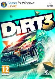 Car�tula oficial de DiRT 3 PC