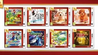 Seis videojuegos de 3DS se unen a los Nintendo Selects a precio reducido
