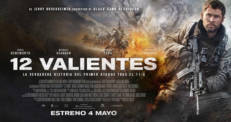 Sorteamos 50 entradas dobles para el preestreno de '12 Valientes' en Madrid