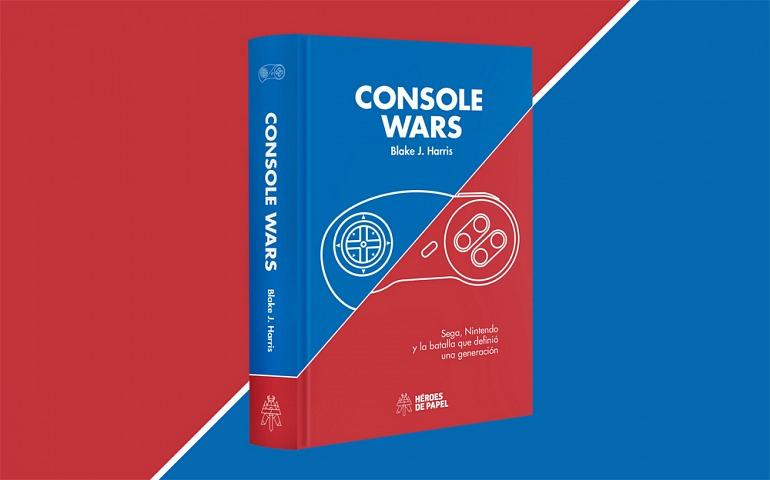 El conocido libro Console Wars tendrá serie de televisión