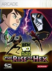 Carátula de Ben 10: The Rise of Hex - Xbox 360