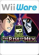 Carátula de Ben 10: The Rise of Hex - Wii