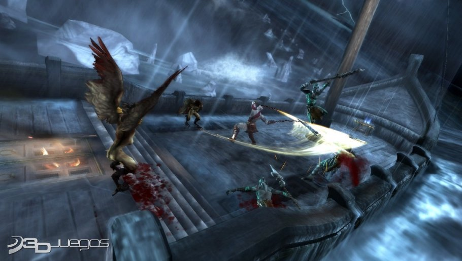 God of War Ghost of Sparta - Impresiones E3 2010