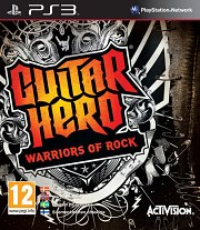 Carátula de Guitar Hero: Warriors of Rock - PS3
