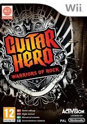 Carátula de Guitar Hero: Warriors of Rock - Wii