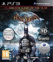 Carátula de Batman: Arkham Asylum - GOTY - PS3