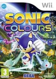 Carátula de Sonic Colours - Wii