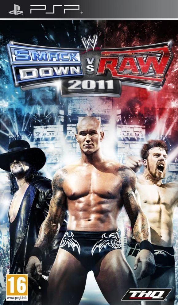 Carátula de WWE: Smackdown vs. RAW 2011