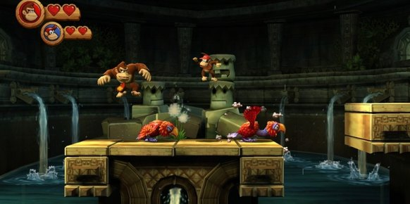Donkey Kong Country Returns: Impresiones jugables