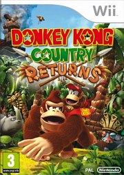 Carátula de Donkey Kong Country Returns - Wii U