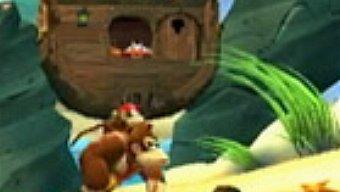 Video Donkey Kong Country Returns, Gameplay: Simios en la Playa