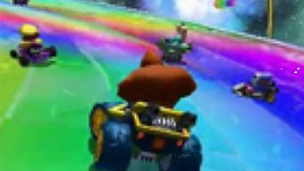 Video Mario Kart 7, Gameplay: Senda Arco Iris