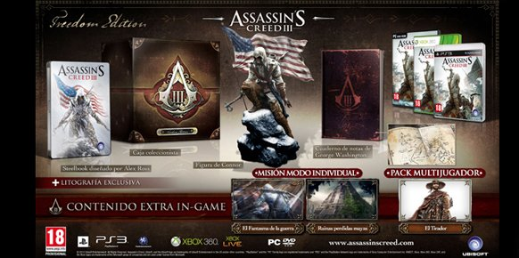 Ediciones especiales de Assassin's Creed 3