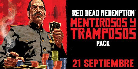 Pack Mentirosos y Tramposos de Red Dead Redemption