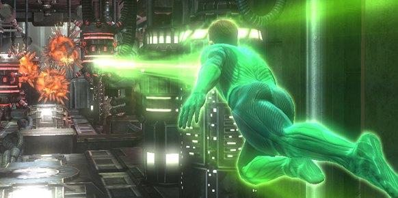Linterna Verde Xbox 360