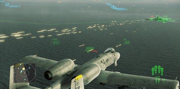 Ace Combat Assault Horizon an�lisis