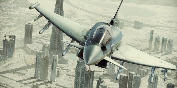 Ace Combat Assault Horizon: Ace Combat Assault Horizon: Impresiones Level Up