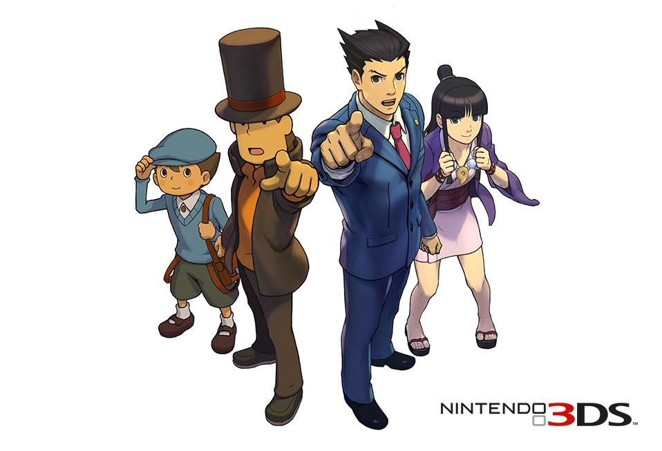 Sorteamos un Professor Layton vs Phoenix Wright: Ace Attorney para 3DS cada día