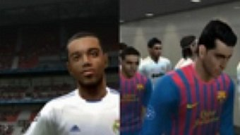 Video PES 2012, Gameplay: Comparativa PES 2011-2012