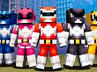 Metamorfoséate con Minecraft y los Power Rangers