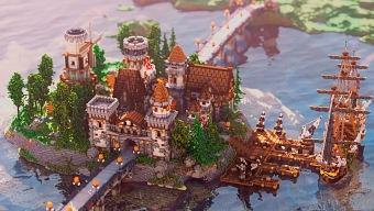 Impresionantes paisajes creados con Minecraft