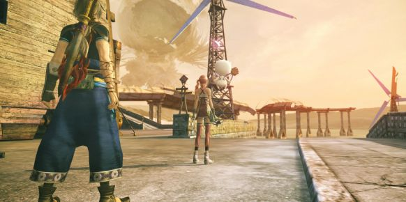 Final Fantasy XIII-2.